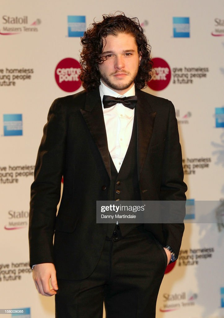 Kit Harington attends the Winter Whites Gala at Royal Albert Hall on December 8, 2012 in London, England.