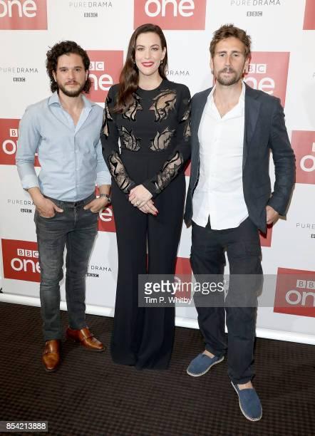 Kit Harington Liv Tyler and Edward Holcroft attending the 'Gunpowder' preview screening at BAFTA on September 26 2017 in London England