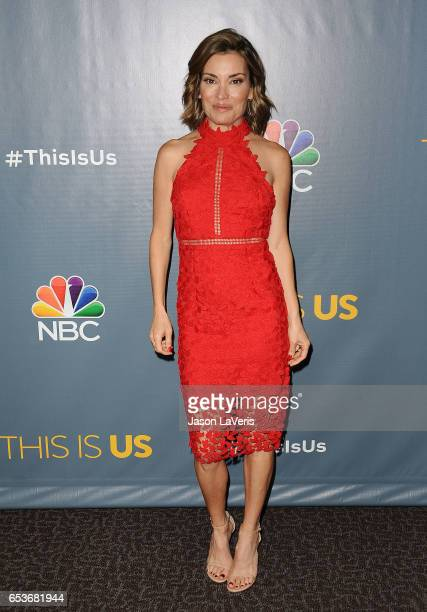 Kit Hoover attends the finale screening of 'This Is Us' at Directors Guild Of America on March 14 2017 in Los Angeles California