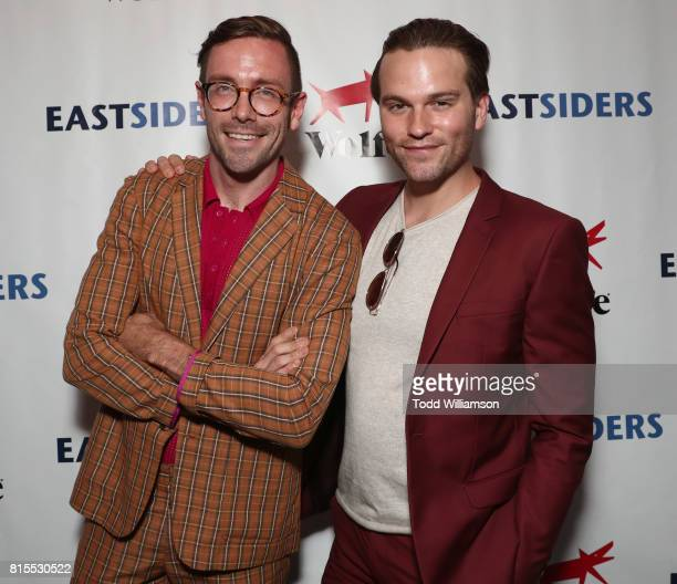 Kit Williamson and Van Hansis attend the 'EastSiders' Premiere And After Party At Outfest on July 15 2017 in Los Angeles California