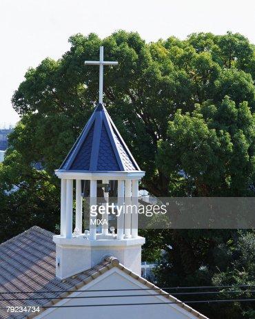 Kitano Catholic Church, Kobe, Hyogo Prefecture, Japan : Stock Photo