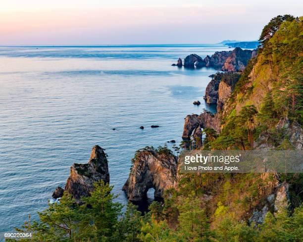 Kitayamazaki morning scenery