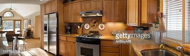 Cuisine et chambre familiale vue panoramique II