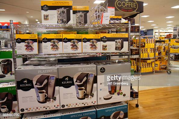 kitchen appliances for sale in macy's department store. pictures