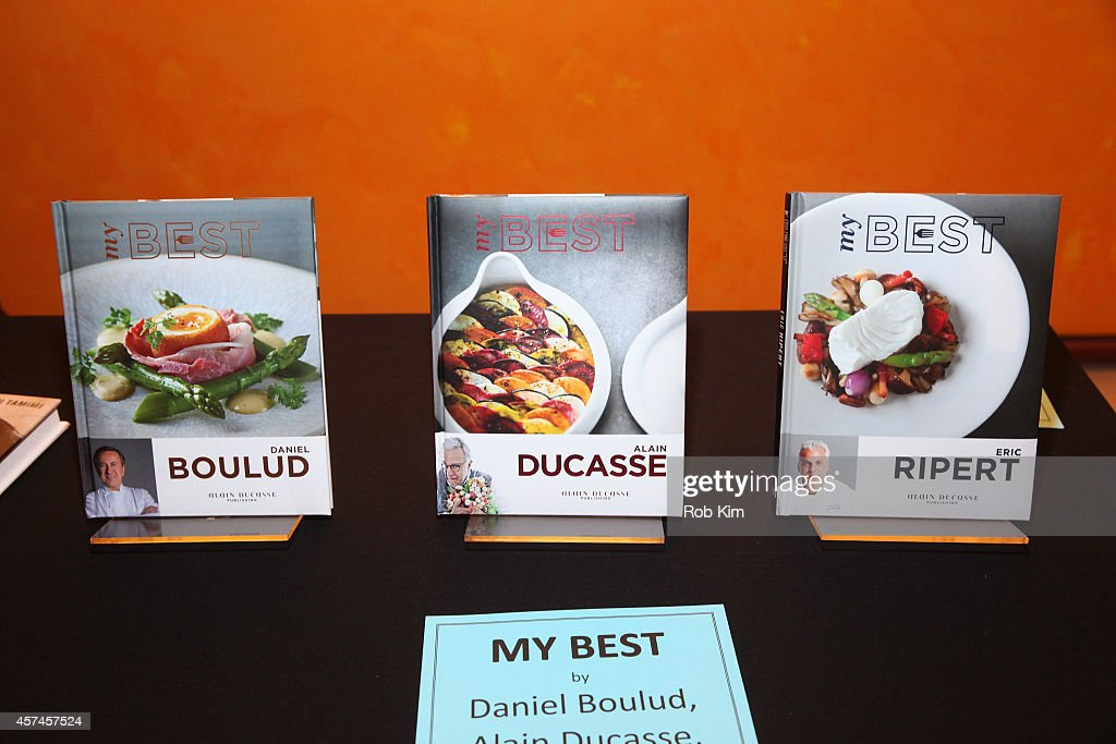 Kitchen Arts Letters at TimesTalk Alain Ducasse Daniel Boulud Eric Ripert during the NFood Network New York City Wine Food Festival Presented By FOOD...
