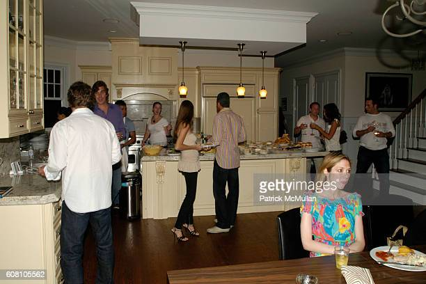 Kitchen Atmosphere at Patrick McMullan Dave Zinczenko invite you to a Summer BBQ for Eric Kimberly Villency at 12 Southampton Hills Court on July 9...