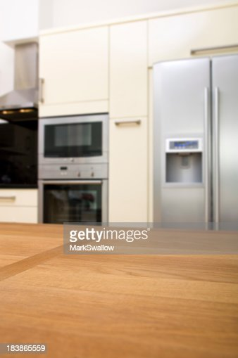 Kitchen Background Stock Photo Getty Images