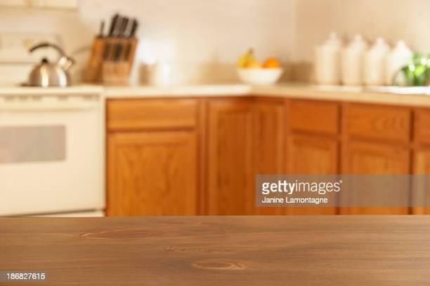 のキッチンカウンター