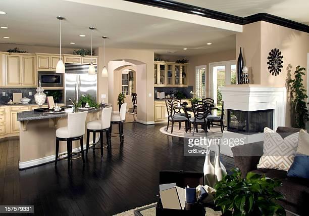 La cocina de diseño Interior de la casa