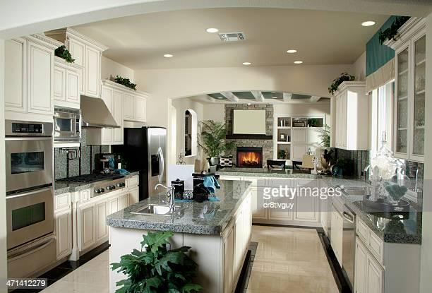 Cucina di Design interno di casa