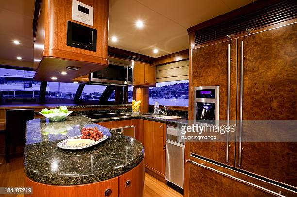 kitchen galley yacht