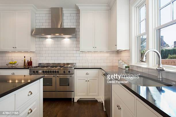 Kitchen in a family house