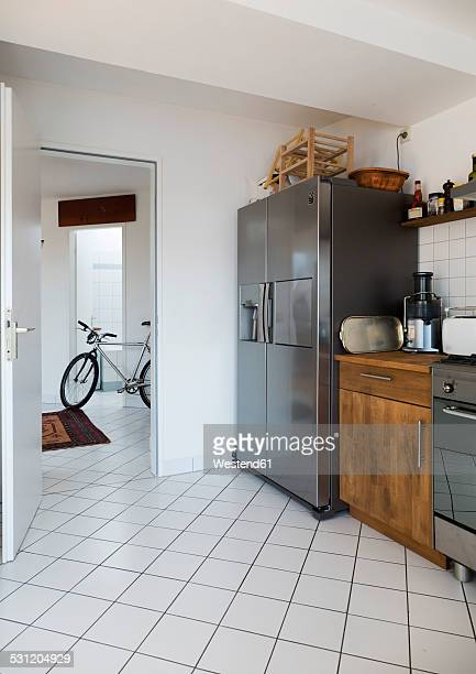 Kitchen in a penthouse flat