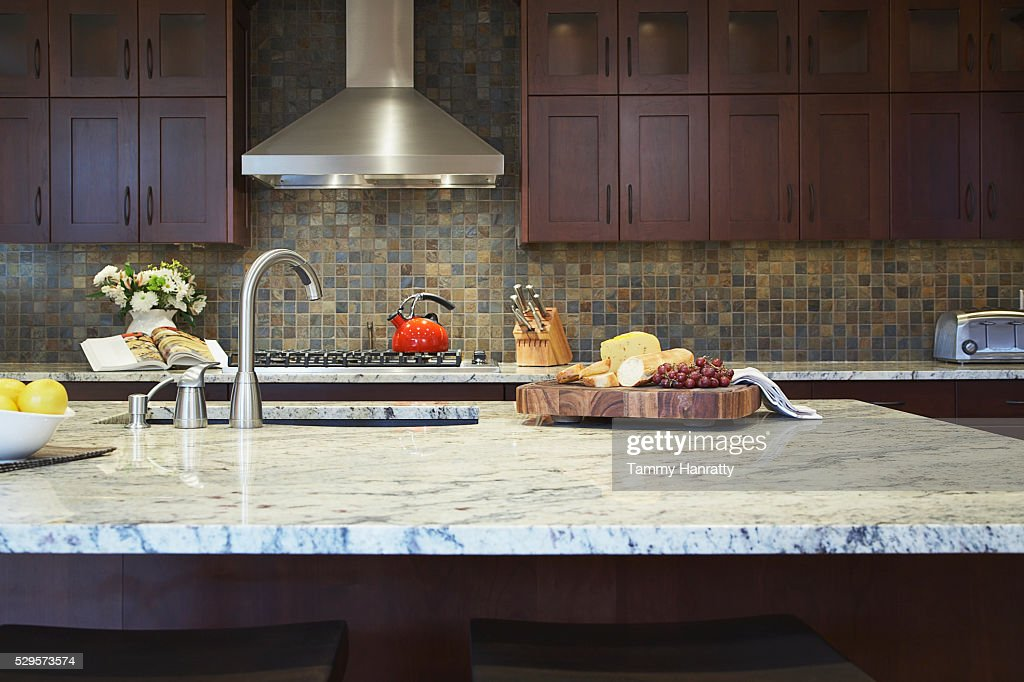 Kitchen island : Stock Photo