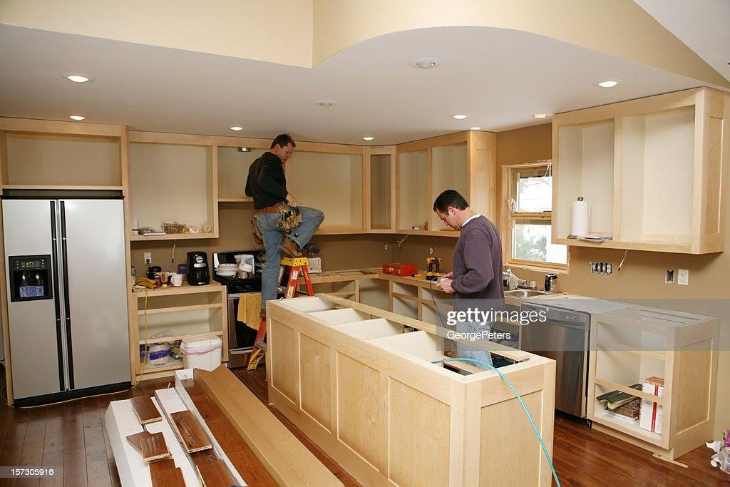 Cocina de tareas : Foto de stock