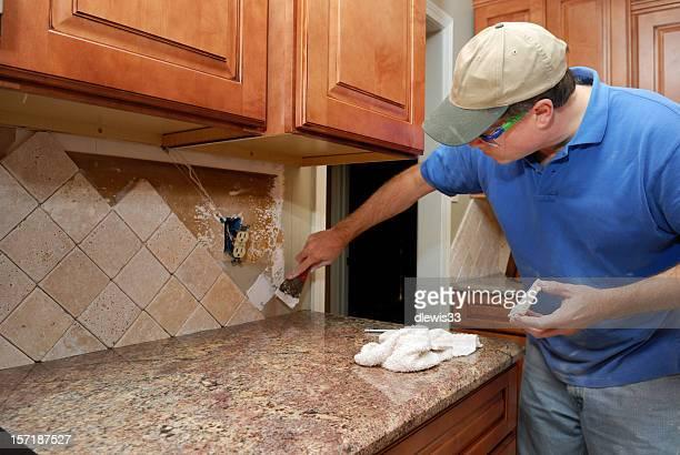Des travaux de rénovation de cuisine