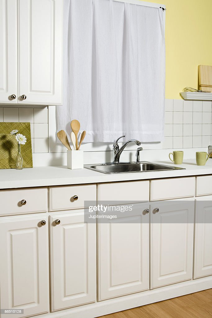 Kitchen sink : Stock Photo