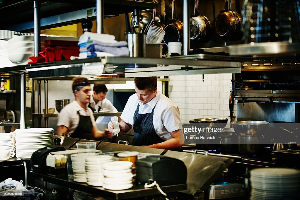 Restaurant Kitchen Staff new shoot - thomas barwick photo album | getty images