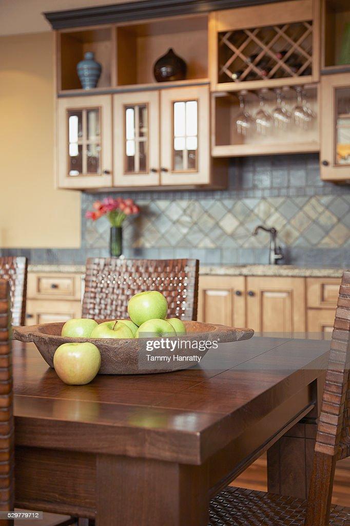 Kitchen table : Stock Photo