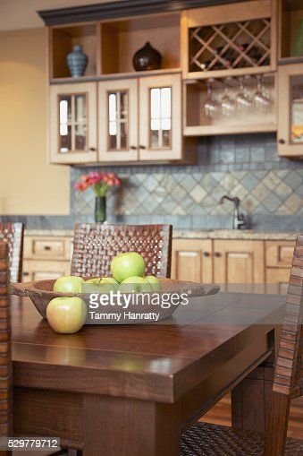 Kitchen table : Stock Photo