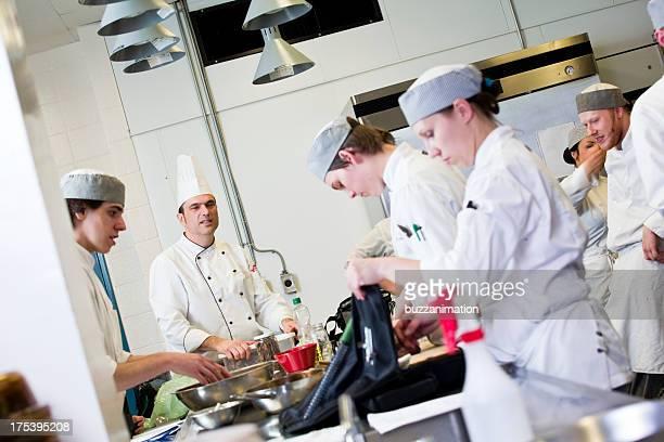 Kitchen Team at work