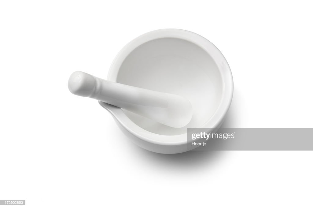 Kitchen: Mortar and Pestle