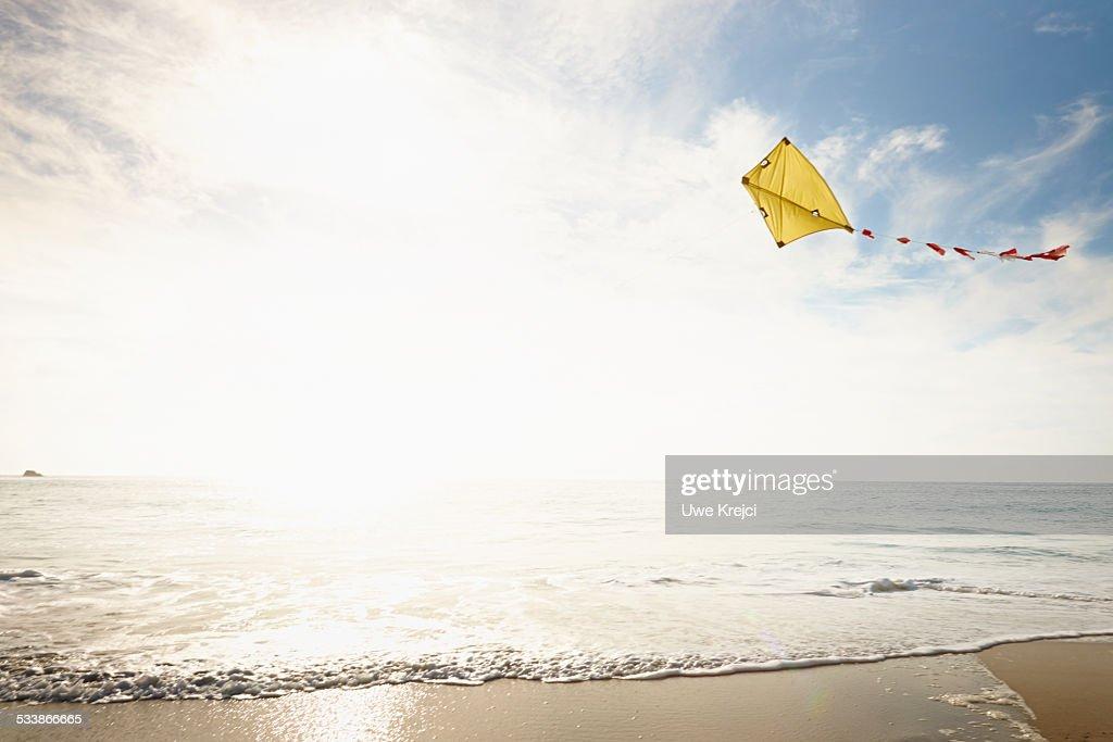 Kite against sky : Stock Photo