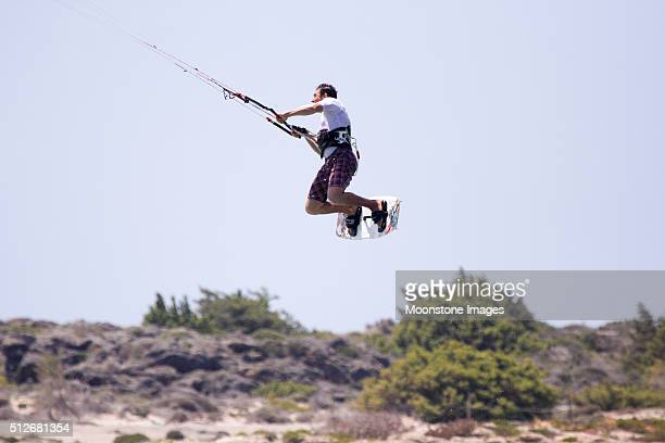 Kite-surf in Elafonisi, Grecia
