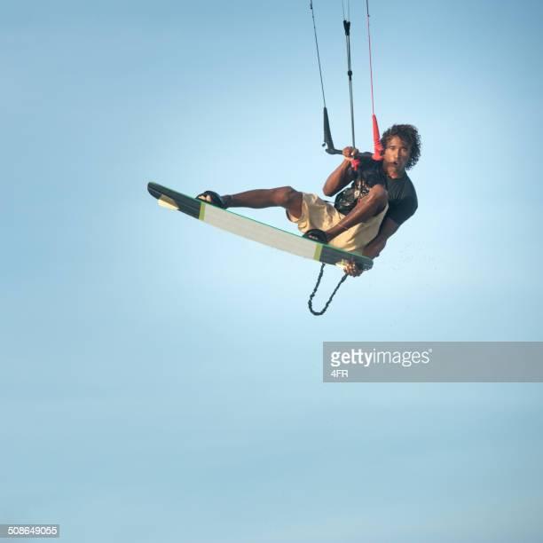 Kitesurfer Jump, Extreme Air