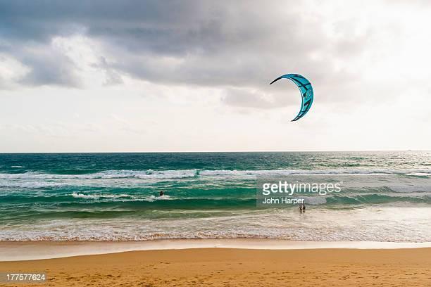 Kitesurfer, Kata Beach, Phuket, Thailand