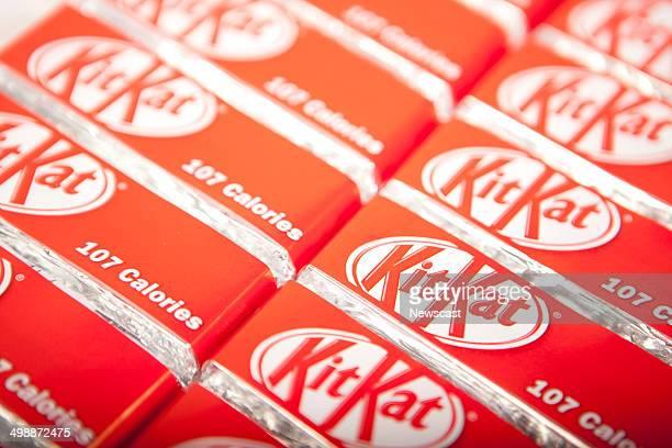 KitKat chocolate wafer bars one of many Nestle products