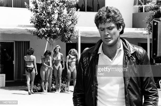 RIDER 'KITTnap' Episode 3 Pictured David Hasselhoff as Michael Knight Photo by Bud Gray/NBCU Photo Bank