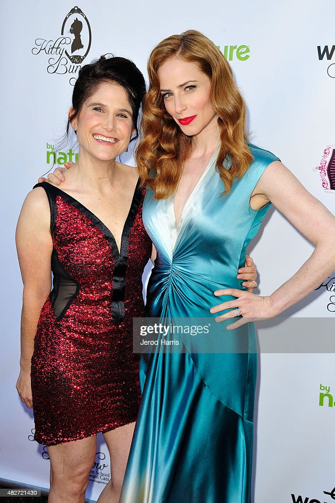 Kitty Bungalow Charm School Founder Shawn Simons and actress Jaime Ray Newman attend the Kitty Bungalow Charm School for Wayward Cats presents...