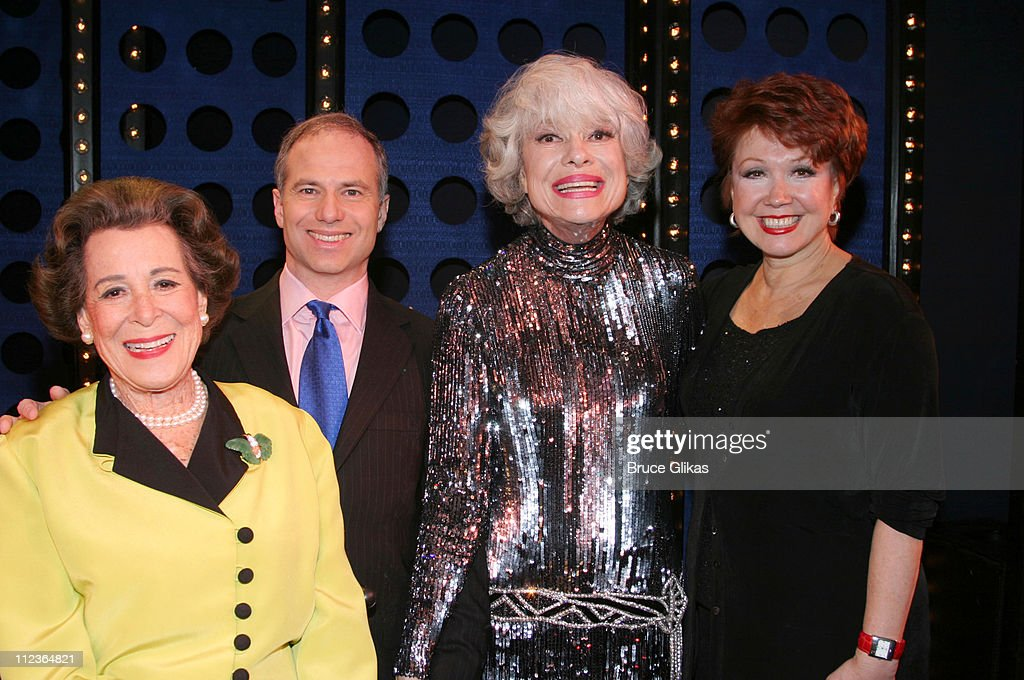 """""""Singular Sensations"""" Guest Star Carol Channing Receives Guests on her Closing"""