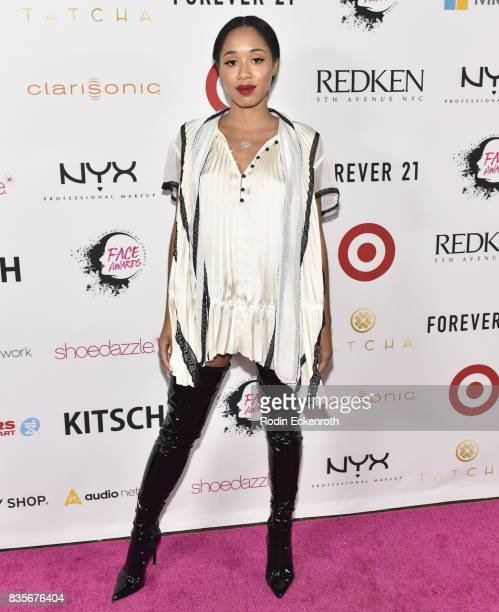 Kitty Cash attends NYX Professional Makeup's 6th Annual FACE Awards at The Shrine Auditorium on August 19 2017 in Los Angeles California