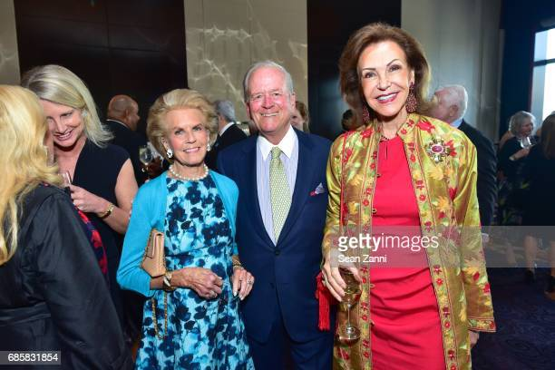 Kitty McKnight Bill McKnight and Mai Hallingby Harrison attend The Boys' Club of New York Annual Awards Dinner at Mandarin Oriental Hotel on May 17...