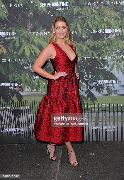 Kitty Spencer arrives for the Serpentine Summer Party at The Serpentine Gallery on July 6 2016 in London England