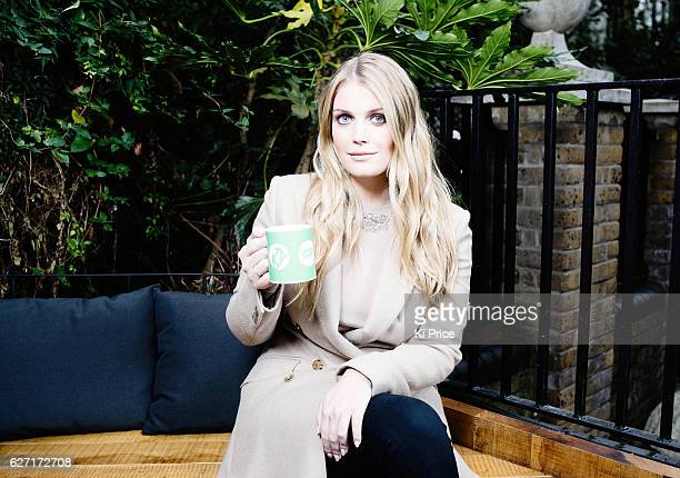 Kitty Spencer is photographed for the Times on October 26 2016 in London England