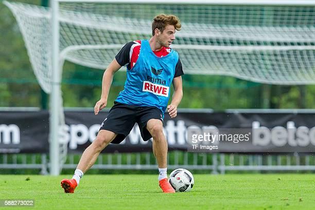 Kitzbuehel Oesterreich Trainingslager 1 FC Koeln Lukas Kluenter