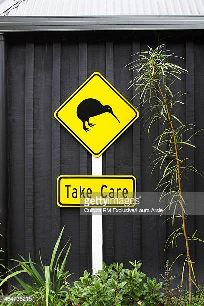 Kiwi bird sign, Auckland, New Zealand