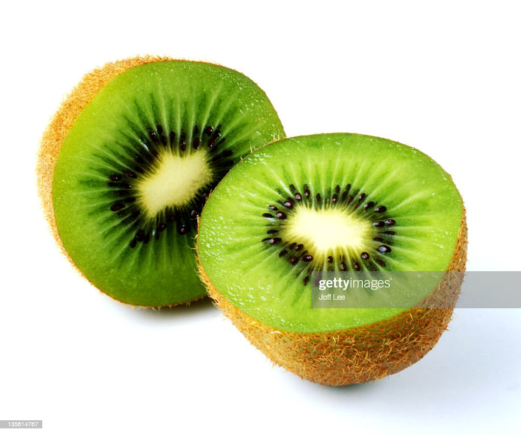 Kiwi fruit cut in half close up - Kiwi Fruit Stock Photos And Pictures Getty Images