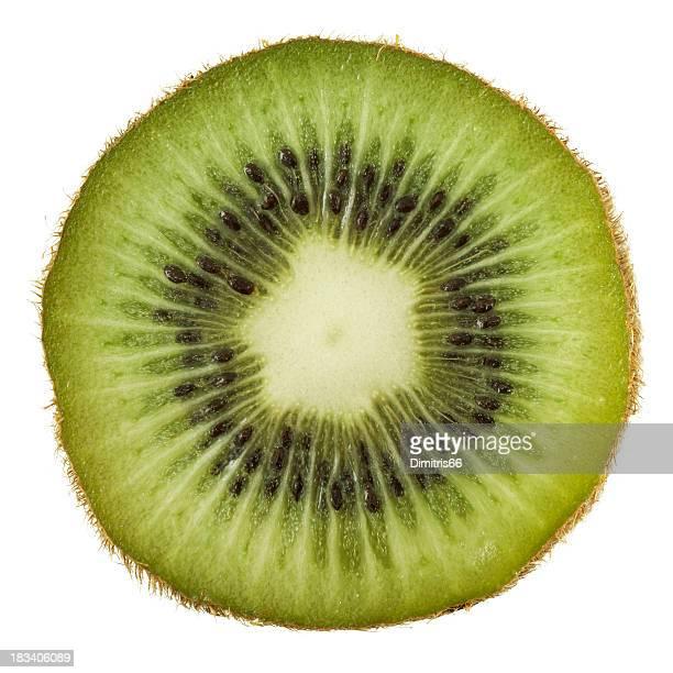 Kiwi portion on white