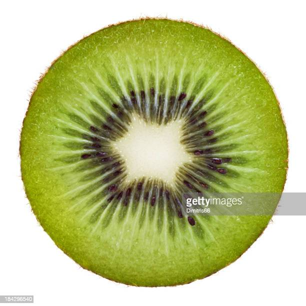 Kiwi portion on white