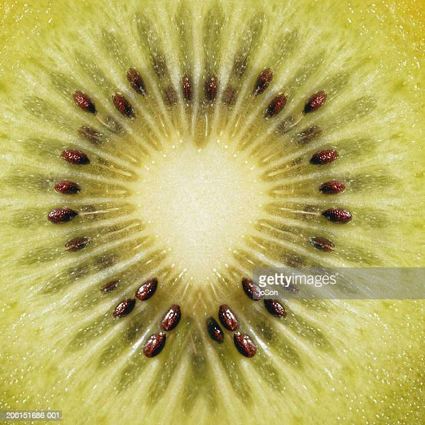 Kiwi slice, detail
