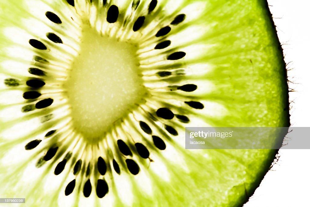 Kiwi slice : Stock Photo