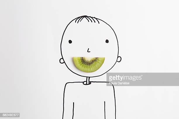 Kiwi smile