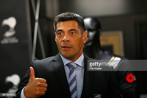 Kiwis Rugby League coach Stephen Kearney during a New Zealand Kiwis press conference at NZRL House on March 27 2015 in Auckland New Zealand New...