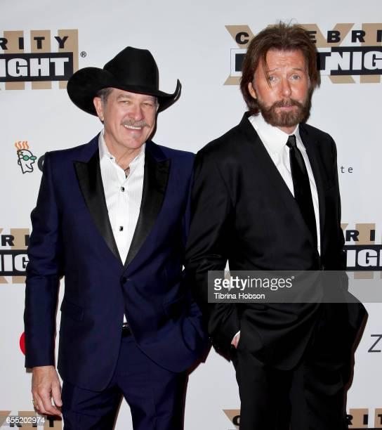 Kix Brooks and Ronnie Dunn of Brooks Dunn attend Muhammad Ali's Celebrity Fight Night XXIII at the JW Marriott Phoenix Desert Ridge Resort Spa on...