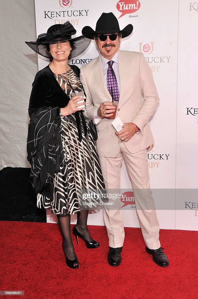 Kix Brooks (R) attends the 139th Kentucky Derby at Churchill Downs on May 4, 2013 in Louisville, Kentucky.