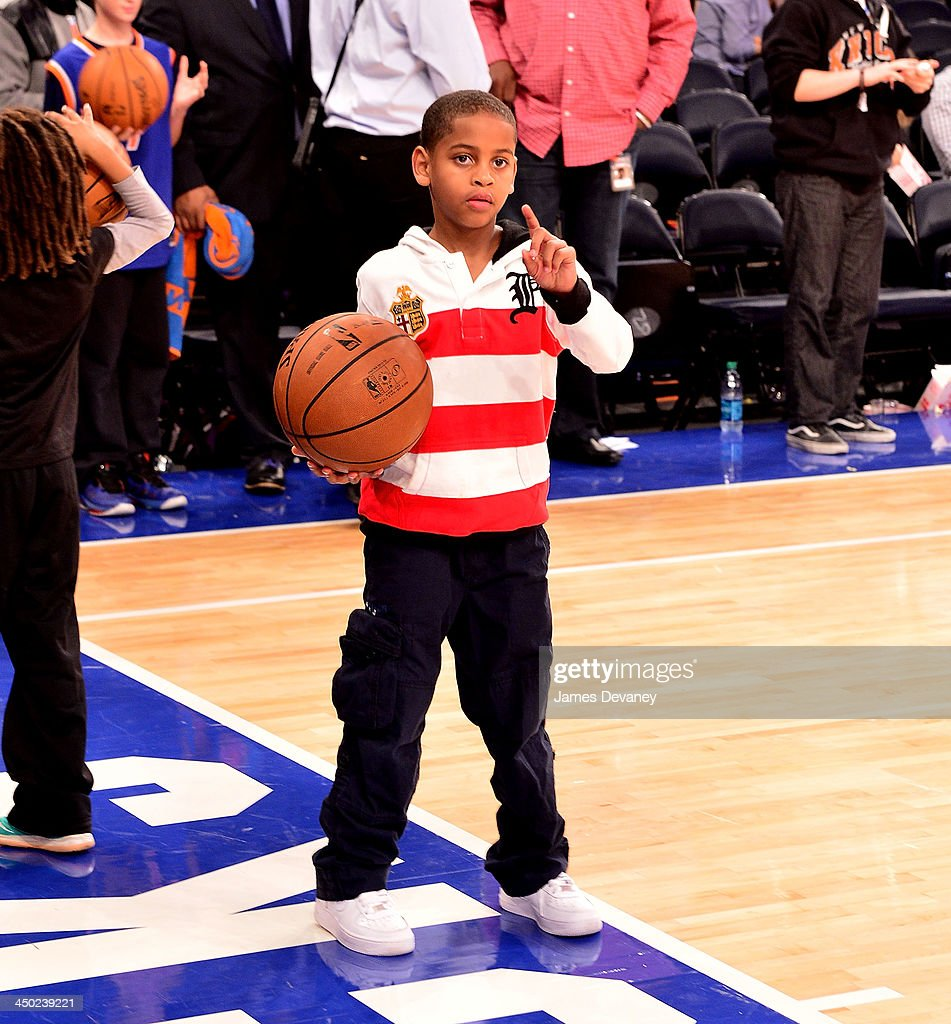 <a gi-track='captionPersonalityLinkClicked' href=/galleries/search?phrase=Kiyan+Anthony&family=editorial&specificpeople=5626253 ng-click='$event.stopPropagation()'>Kiyan Anthony</a> attends the Atlanta Hawks vs New York Knicks game at Madison Square Garden on November 16, 2013 in New York City.